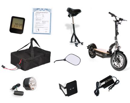 der revoluzzer20 e scooter 20km h e fahrzeuge. Black Bedroom Furniture Sets. Home Design Ideas