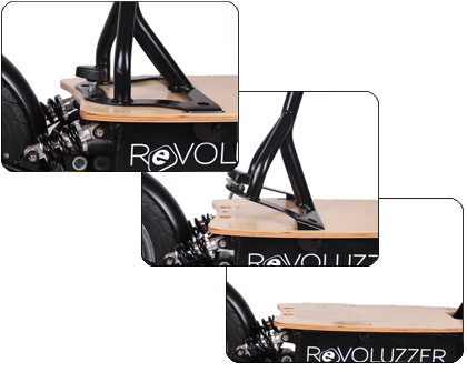 der revoluzzer45 plus 20ah lithium e scooter e fahrzeuge. Black Bedroom Furniture Sets. Home Design Ideas